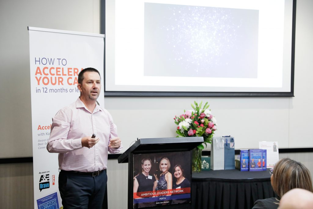 Guest Speaker at Ambitious Leaders Network, Perth WA