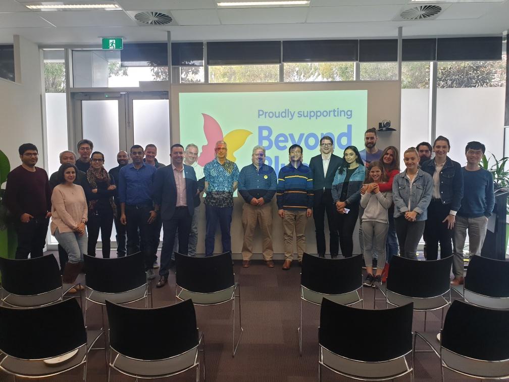 BeyondBlue talk at CGG, West Perth WA