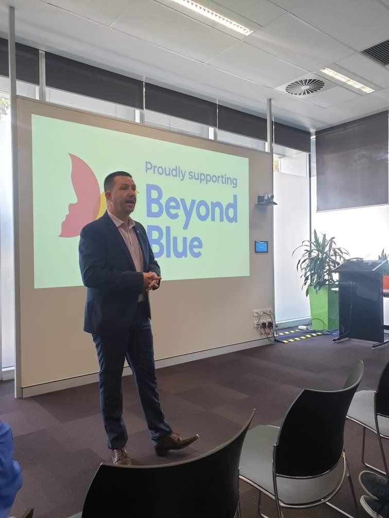 BeyondBlue Talk - CGG, West Perth WA