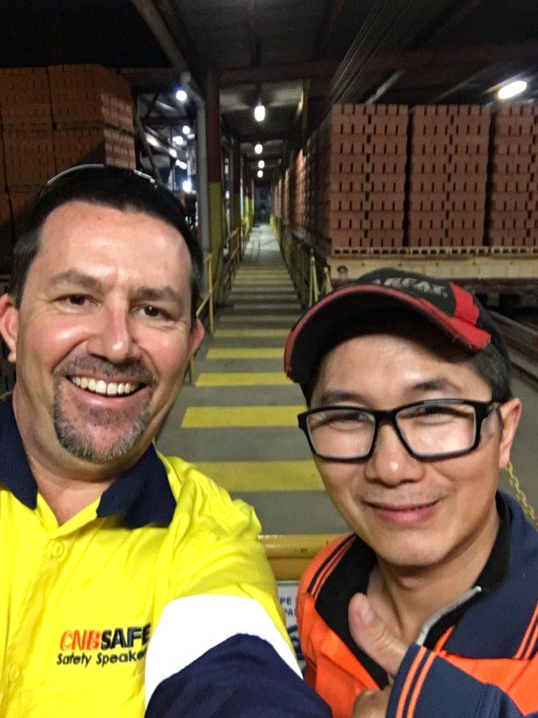 Myself & Tony Trinh, PGH Bricks & Pavers, Cecil Park NSW