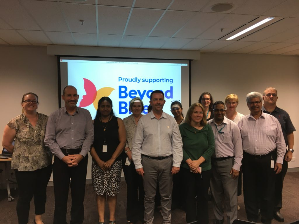 BeyondBlue Talk at Department of Mines, Industry Regulation and Safety, Cannington WA