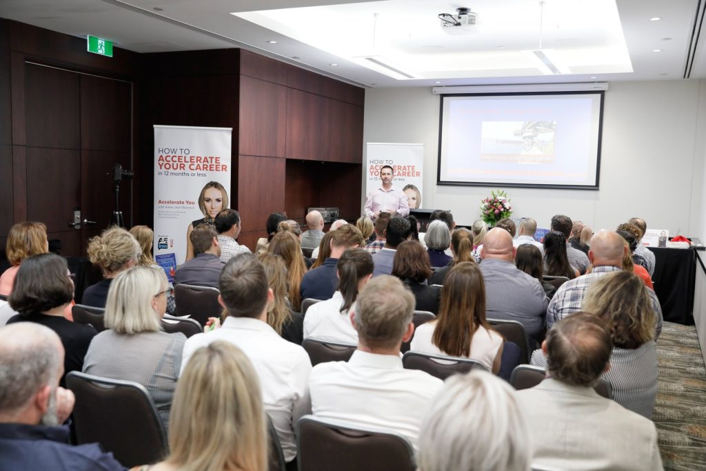 Delivering Give To Succeed at Ambitious Leaders Network, Perth WA