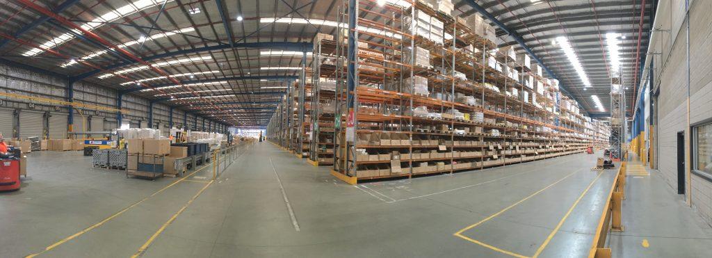 Reece Groups massive 50,000m2 Storage / Distribution Centre, Dandenong VIC.