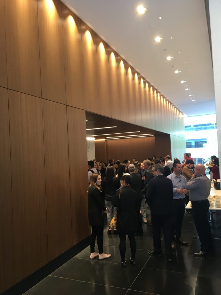 Lunch & Learn Event at Brookfield Properties, Perth WA