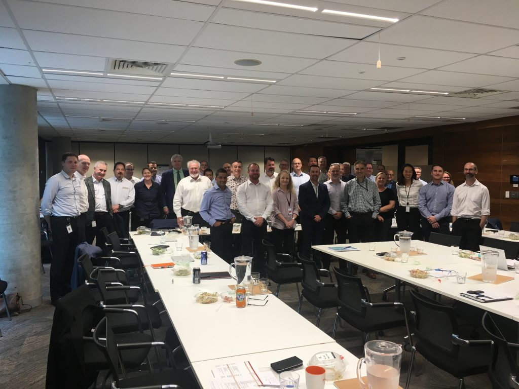 Board of Directors at Hatch from around the world, Brisbane QLD
