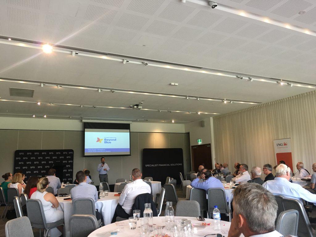 BeyondBlue Talk with Specialist Financial Group (SFG), Wembley WA