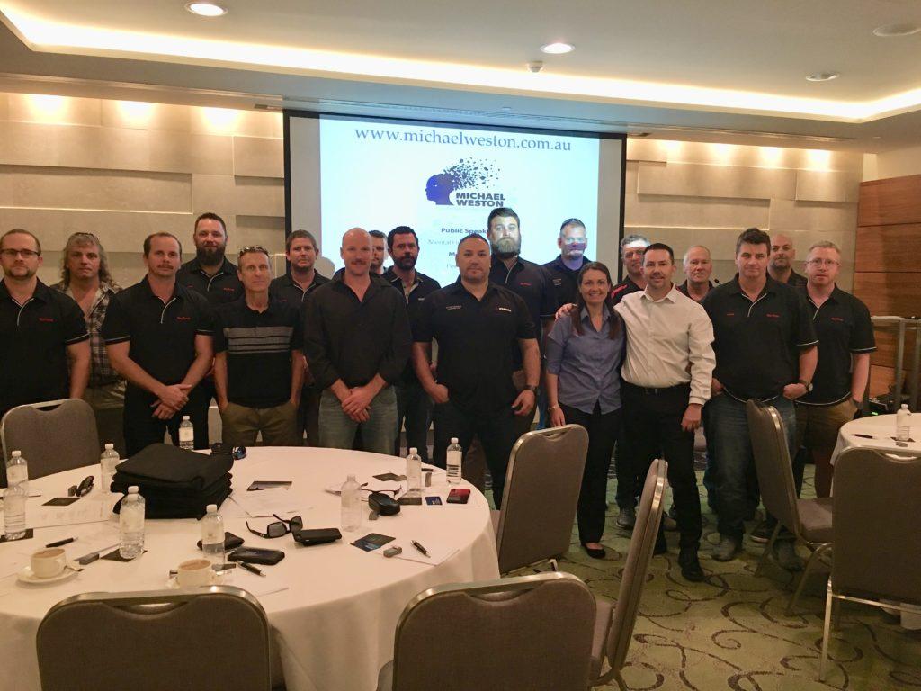 Rio Tinto Pannawonica Supervisors Forum, Crown Resort, Burswood WA