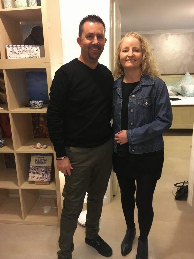 Date night with my wife Donna, Perth WA