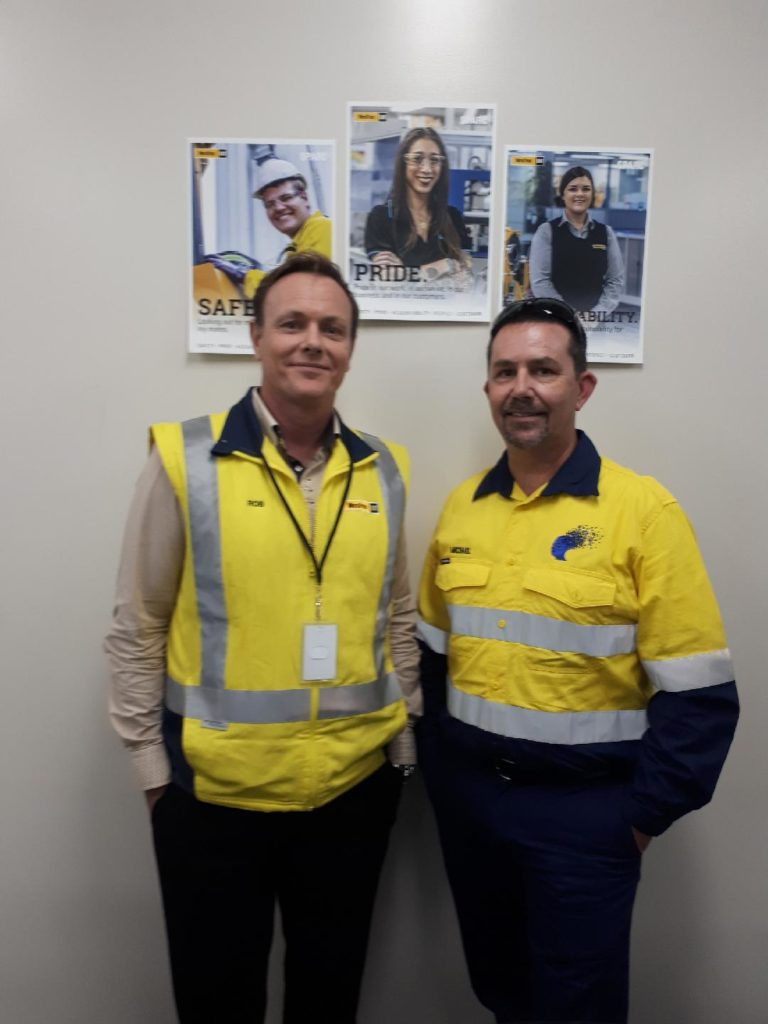 Apprentices Manager Robert Brack at WesTrac, South Guildford WA